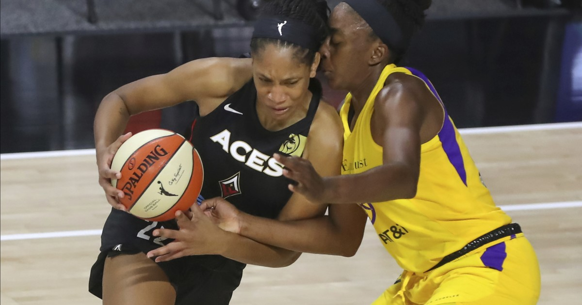 Sparks will be seeded third for WNBA playoffs after loss to Aces