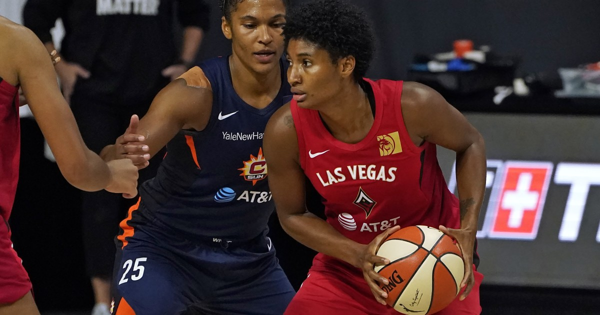 WNBA playoffs: Aces beat Sun to force Game 5