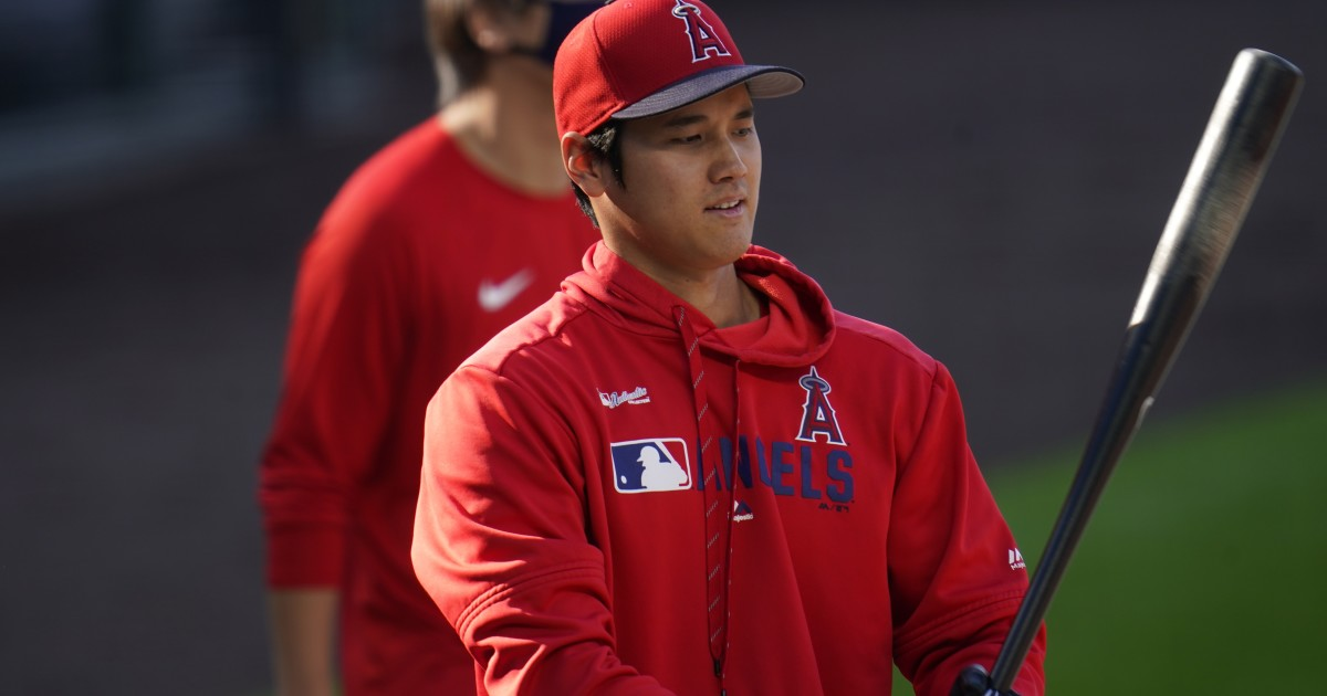 Shohei Ohtani is still trying to put his swing together