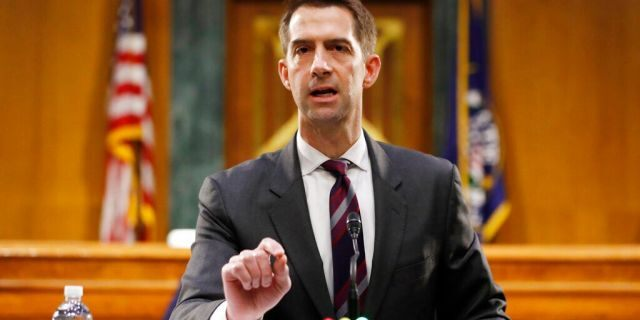 Tom Cotton says Senate will move forward on confirming Ginsburg successor 'without delay'