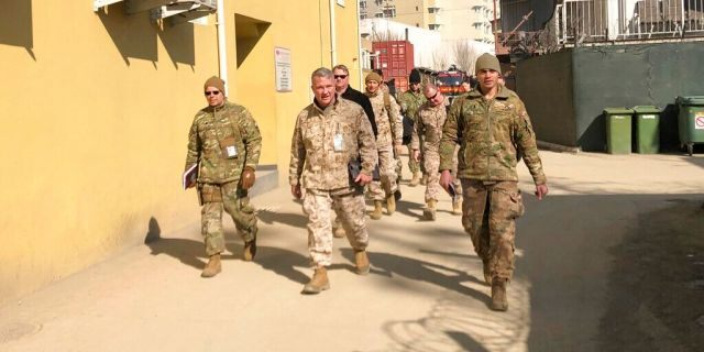 2,200 American troops leaving Iraq this month, US general says