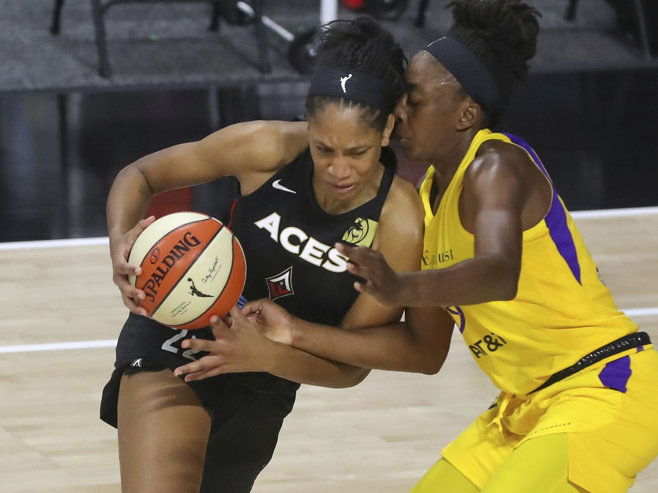 Aces' A'ja Wilson named AP WNBA player of the year