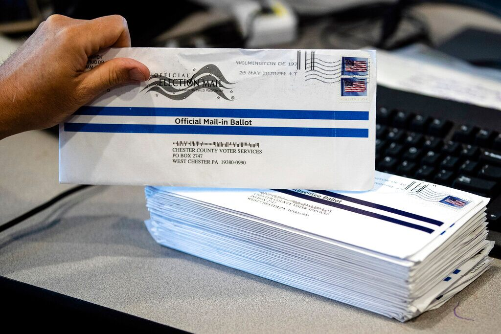 Philadelphia election official urges GOP state legislature to outlaw secrecy envelopes for mail-in ballots