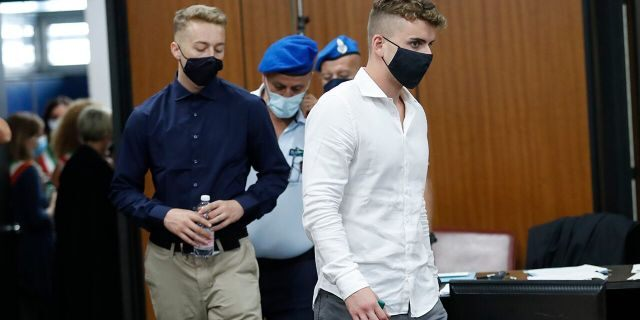 American accused of murdering Italian police officer in botched drug deal asks for forgiveness