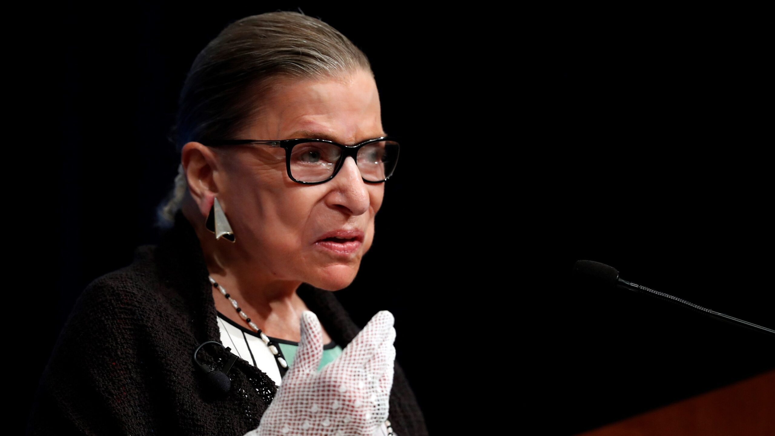 Conservative ad uses RBG's words to argue for replacing her quickly