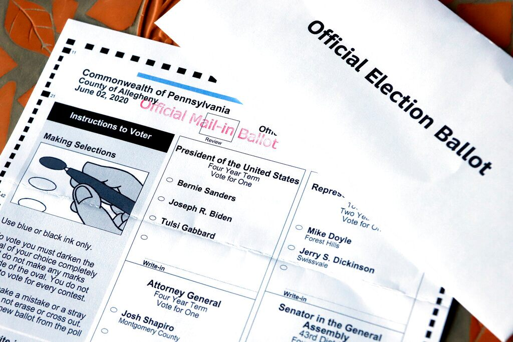 Northern California county says social media post claiming hundreds of mail-in ballots being dumped is from 2018