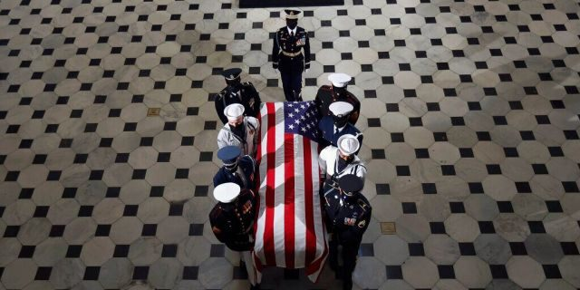 Supreme Court Justice Ruth Bader Ginsburg laid to rest Arlington National Cemetery