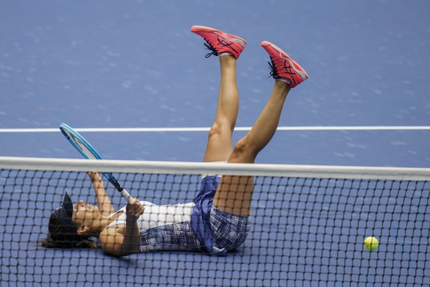 Serena Williams advances to U.S. Open semifinals with win over Tsvetana Pironkova