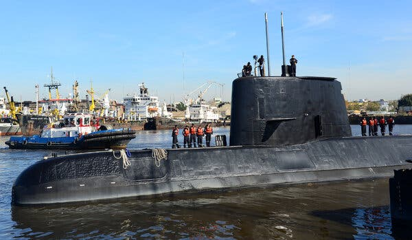 Argentina Spied on Families of Lost Submarine Crew, Officials Say