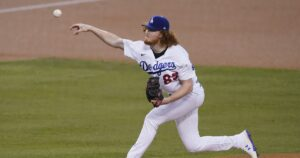 Dodgers pitcher Dustin May gets outs through contact, but that could change
