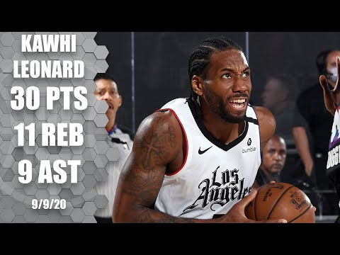Kawhi Leonard scores 30 points for Clippers vs. Nuggets [GAME 4 HIGHLIGHTS] | 2020 NBA Playoffs