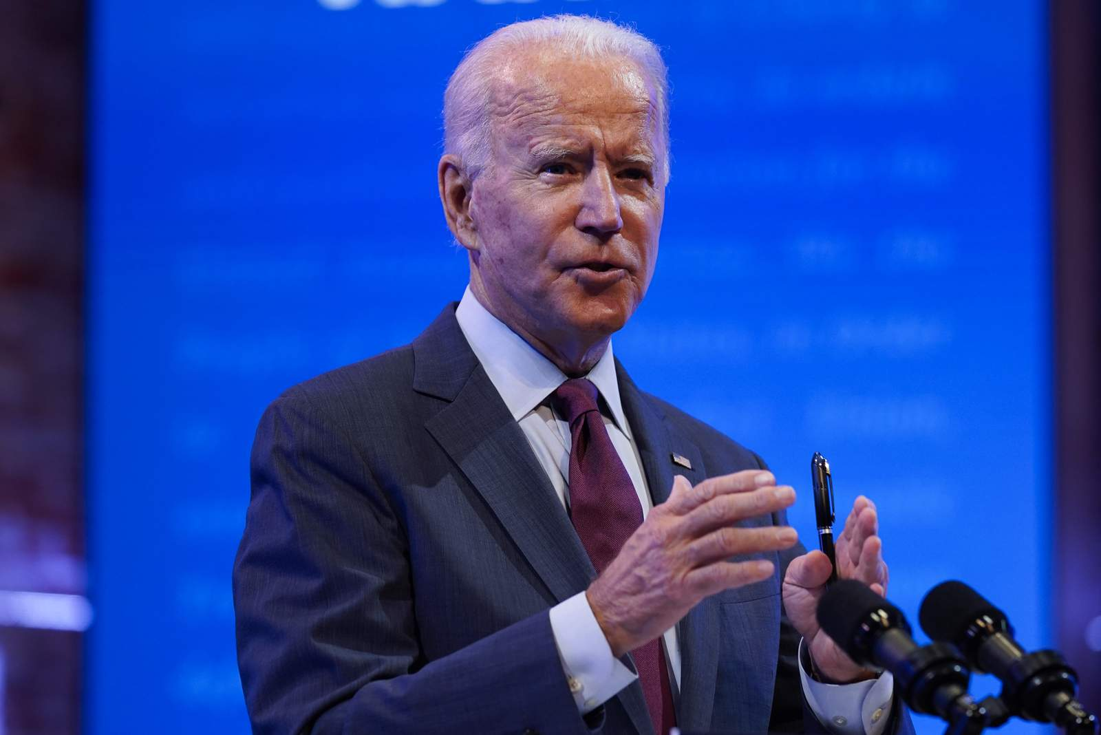 Biden to Dems: Focus on health care, not court expansion