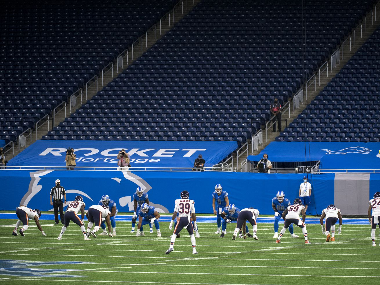 NFL issues fines for penalties during Bears' games vs. Lions, Giants