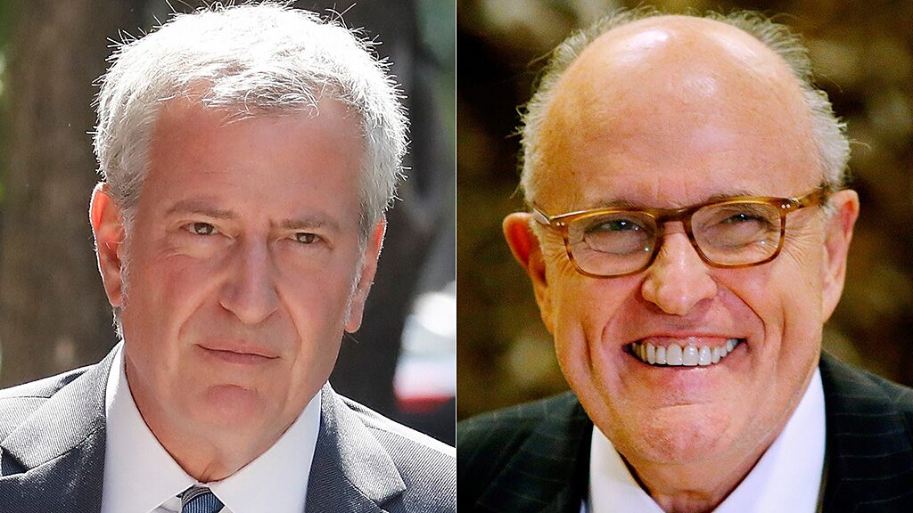 Giuliani blasts de Blasio as 'danger' to NYC residents: 'People die as a result of his incompetence'