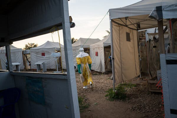 W.H.O. Workers Are Accused of Sex Abuse During Ebola Response in Congo