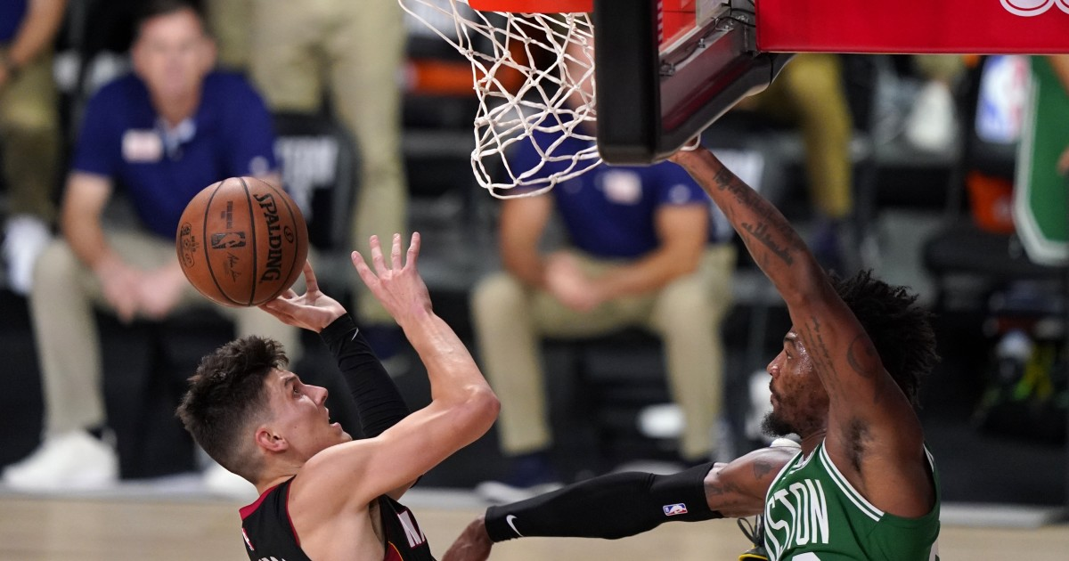 NBA playoffs: Heat top Celtics, move a game from finals