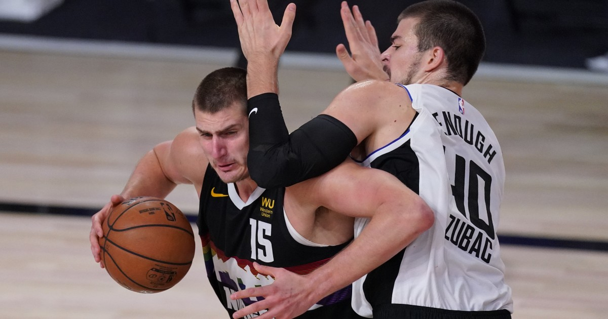 Clippers still adjusting to freakish talents of Nuggets' Nikola Jokic