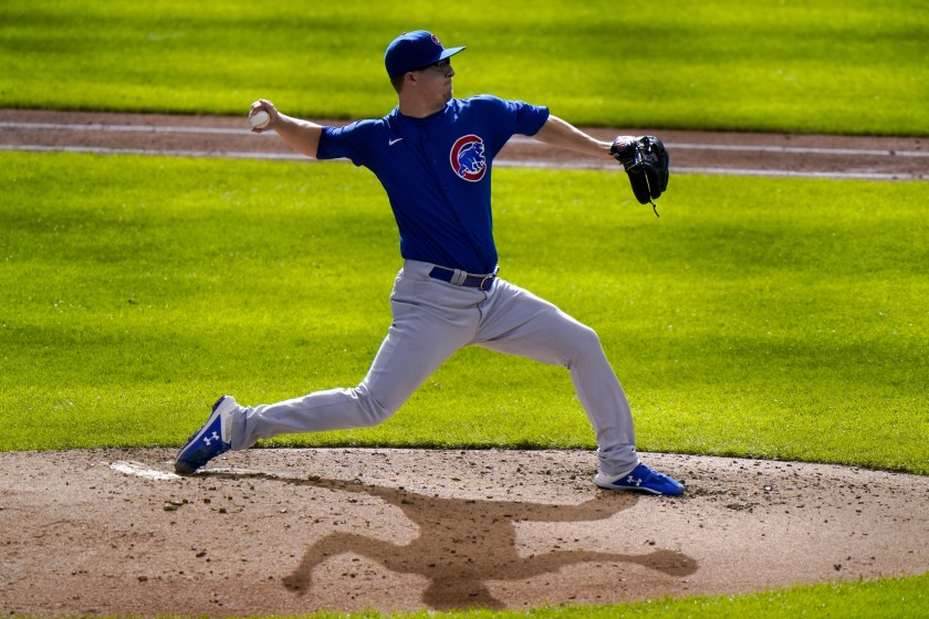 Cubs' Alec Mills throws a no-hitter in win over Brewers