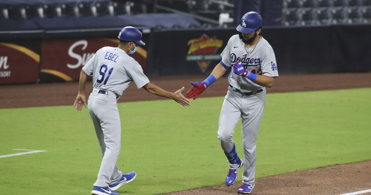 Kenley Jansen makes things interesting, but Dodgers hold off Padres