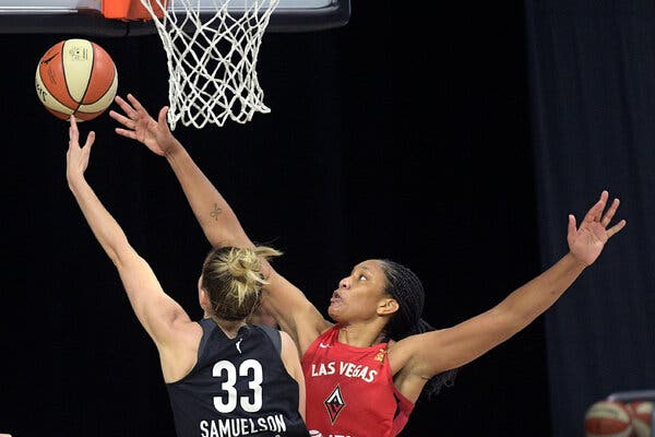 A'ja Wilson Wanted This to Be Her Year. So Far, It Is.