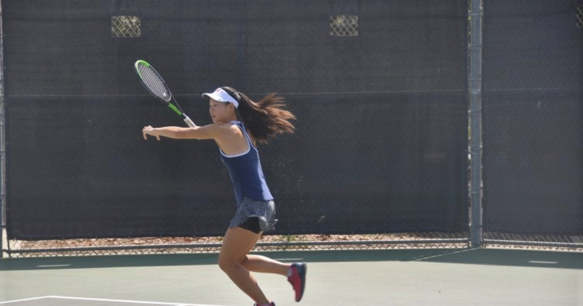 Column: Emma Sun is becoming a virtuoso on the court and a stage