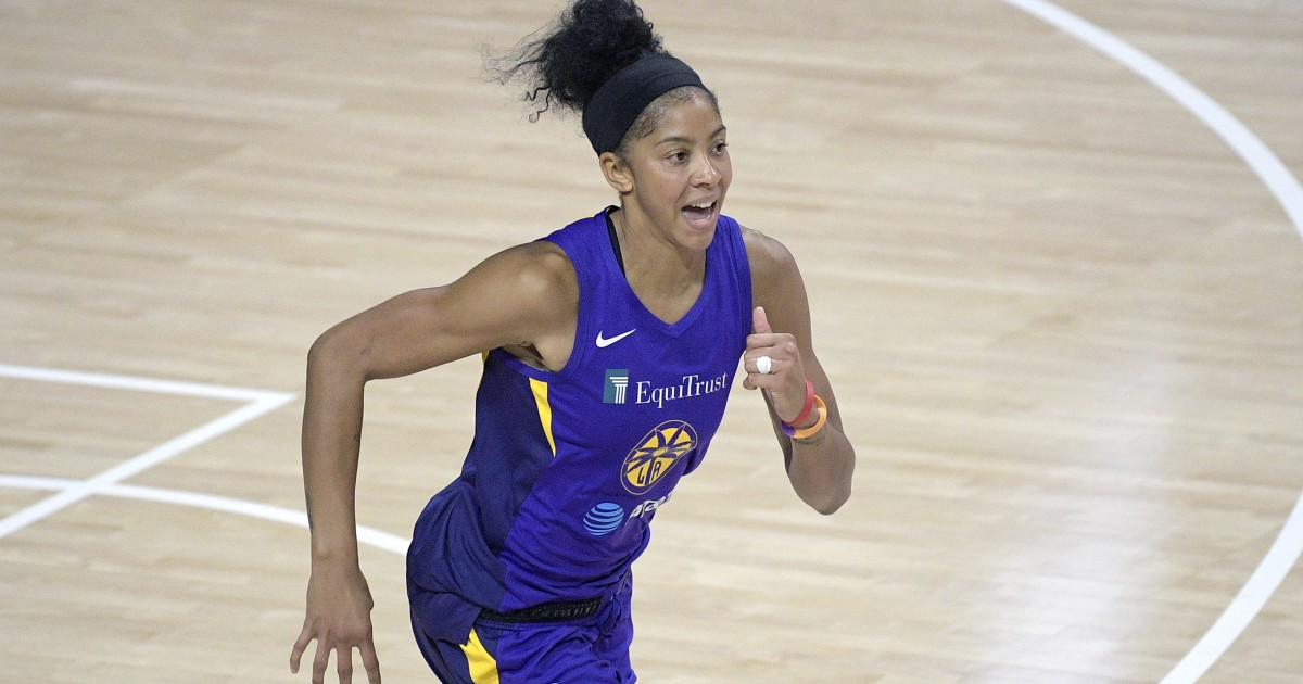 Candace Parker, Sparks shake early doldrums, beat Wings