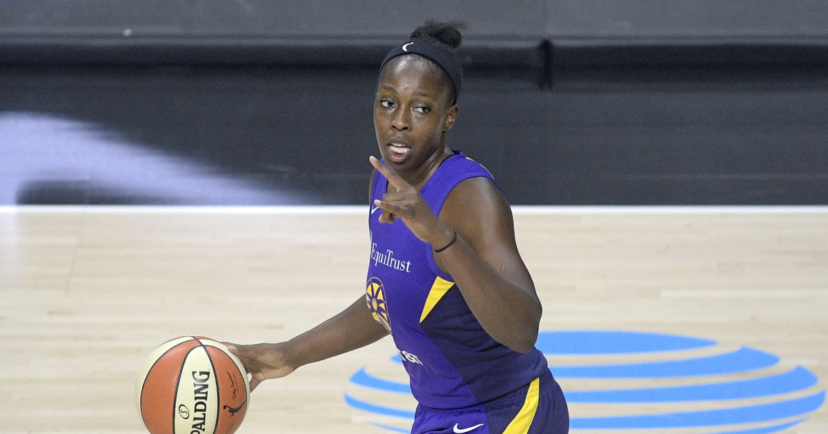 Sparks' nine-game winning streak ends with loss to Lynx