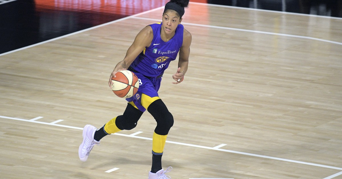 Candace Parker revolutionized basketball, but she's not done
