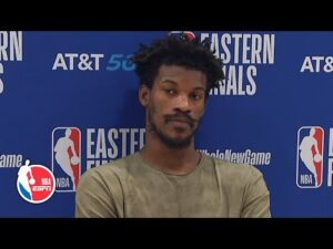 Jimmy Butler: Heat still have to get four more wins | 2020 NBA Playoffs