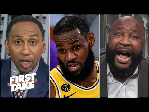 Stephen A. slams Marcus Spears' Patrick Mahomes-LeBron analogy   First Take