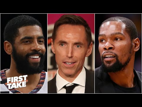 How the Nets can become contenders with Steve Nash, Kyrie Irving & Kevin Durant | First Take