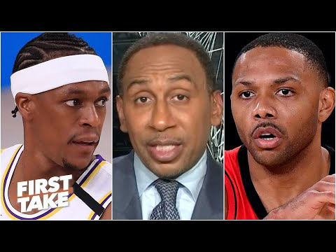 Stephen A. on Rondo, Eric Gordon & the importance of role players in Lakers vs. Rockets   First Take