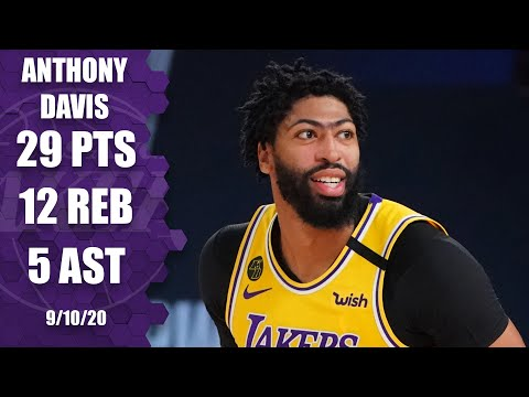 Anthony Davis powers Lakers with 29 points [GAME 4 HIGHLIGHTS] | 2020 NBA Playoffs
