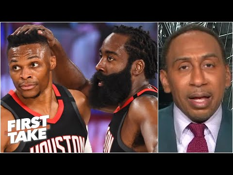 The Lakers take a 3-1 series lead over the Rockets. Is Houston finished? | First Take