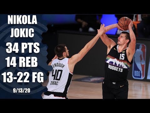 Nikola Jokic leads Nuggets with 34 points [GAME 6 HIGHLIGHTS] | 2020 NBA Playoffs