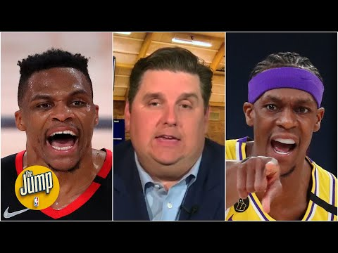 Russell Westbrook's feud with Rajon Rondo's brother will haunt him – Brian Windhorst | The Jump