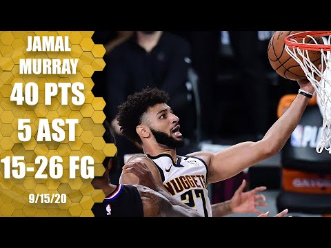 Jamal Murray scores 40 points for Nuggets vs. Clippers [GAME 7 HIGHLIGHTS]   2020 NBA Playoffs