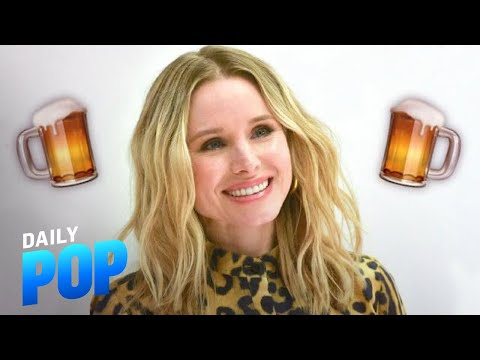 Kristen Bell's Daughters Drink Non-Alcoholic Beer | Daily Pop | E! News