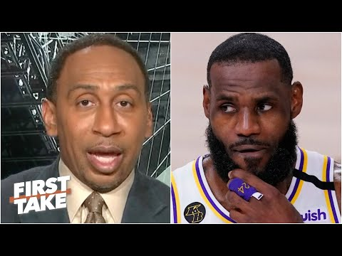 Stephen A. responds to Jamal Murray and says LeBron was let off the hook   First Take