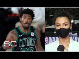 Celtics frustrated in locker room after Game 2 loss vs. Heat – Malika Andrews | 2020 NBA Playoffs