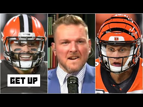 Pat McAfee reacts to the Baker Mayfield vs. Joe Burrow matchup | Get Up