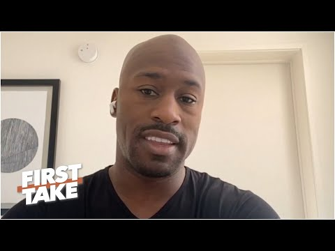 Vernon Davis on Colin Kaepernick being unsigned, the Chiefs & Dwayne Haskins' potential | First Take