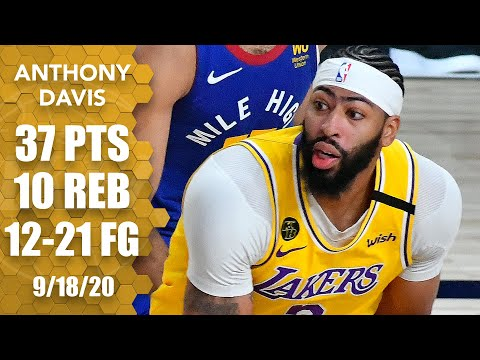 Anthony Davis takes over Game 1 of WCF with 37 points in Nuggets vs. Lakers | 2020 NBA Playoffs