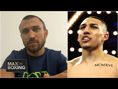 Vasiliy Lomachenko scouts Teofimo Lopez before Oct. 17 fight   Max on Boxing