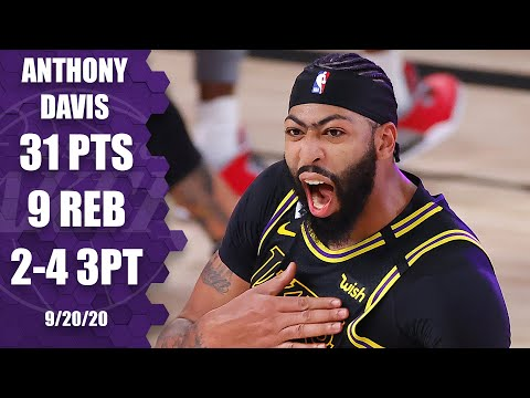 Anthony Davis hits game winner for Lakers vs. Nuggets [GAME 2 HIGHLIGHTS] | 2020 NBA Playoffs