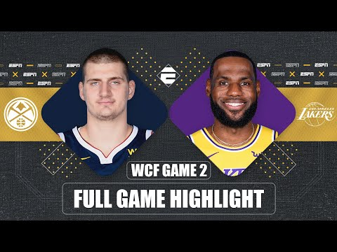 Denver Nuggets vs. Los Angeles Lakers [GAME 2 HIGHLIGHTS] | 2020 NBA Playoffs