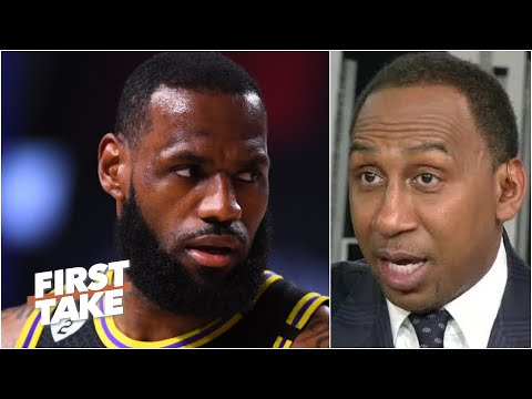 Stephen A.'s message to LeBron: You might not win Finals MVP over Anthony Davis   First Take