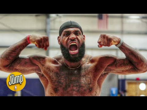 Meet the man who takes those viral behind-the-scenes NBA bubble photos | The Jump