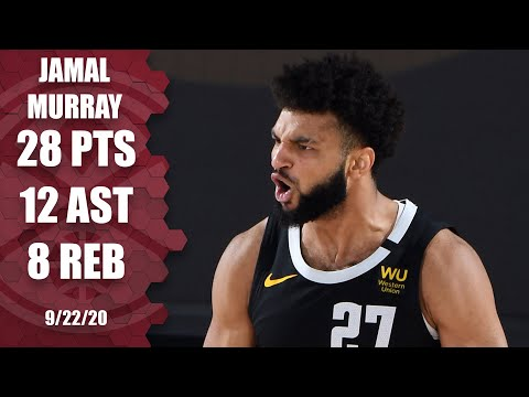 Jamal Murray drops 28 and 12 on the Lakers [GAME 3 HIGHLIGHTS] | 2020 NBA Playoffs