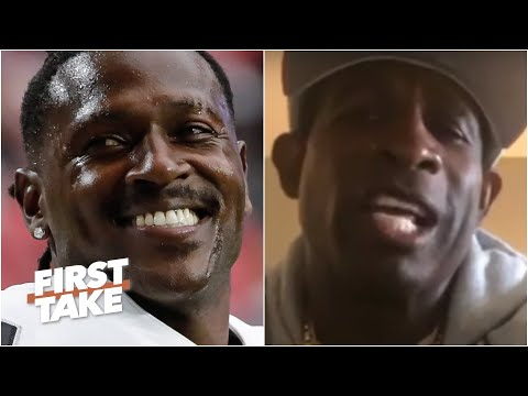 Yes you can trust Antonio Brown! – Deion Sanders wants AB back in the NFL | First Take